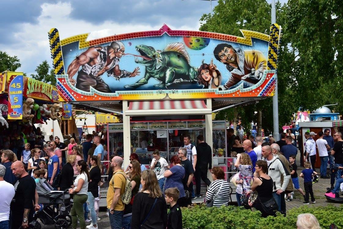 Budgetkermis Tilburg , Locatie Stappegoor